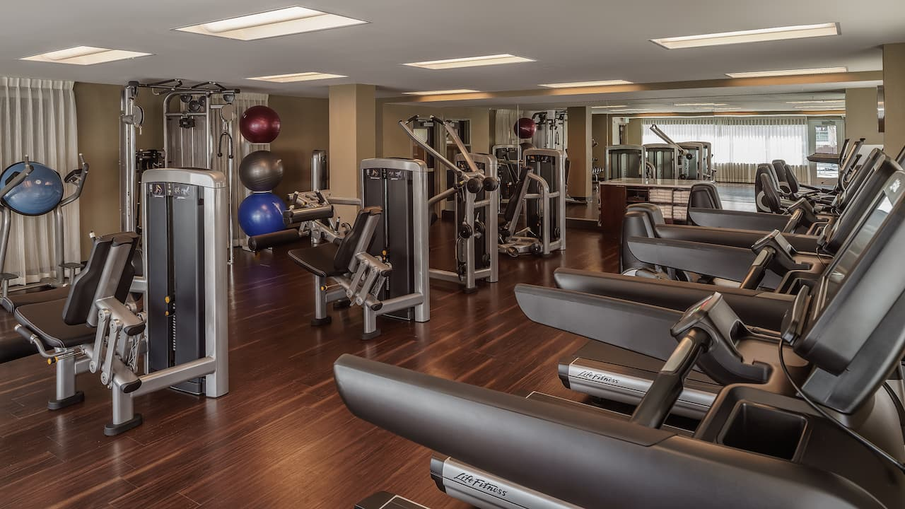 Fitness Center at Hyatt Regency Aurora-Denver