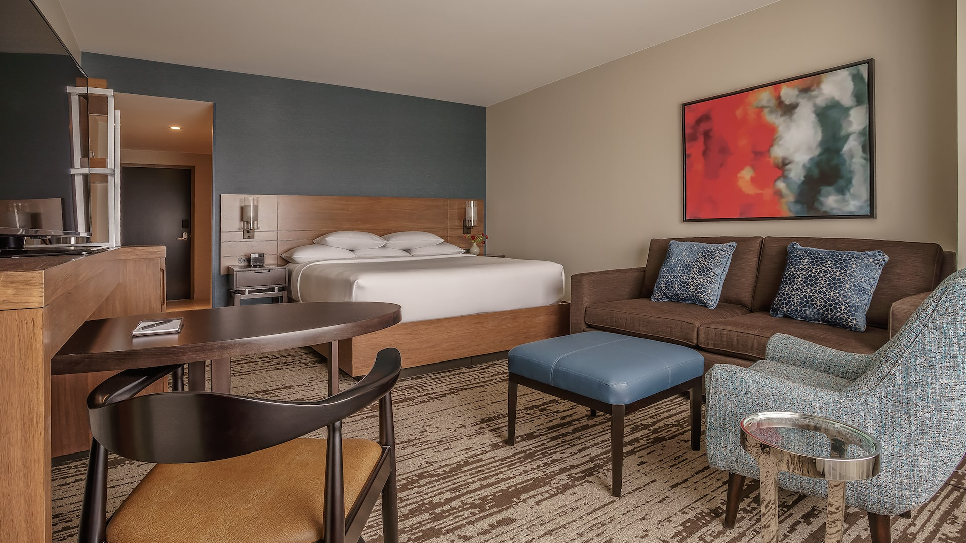 Hotel Room with King Bed at Hyatt Regency Aurora-Denver