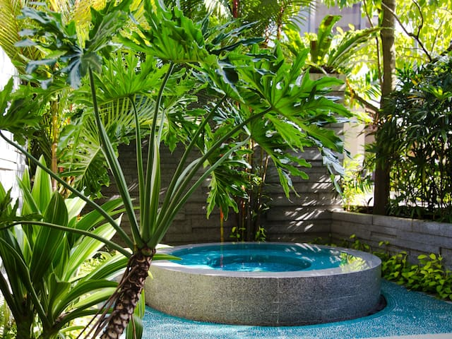 Grand Hyatt Singapore Outdoor Pool and Whirlpool at Damai Spa