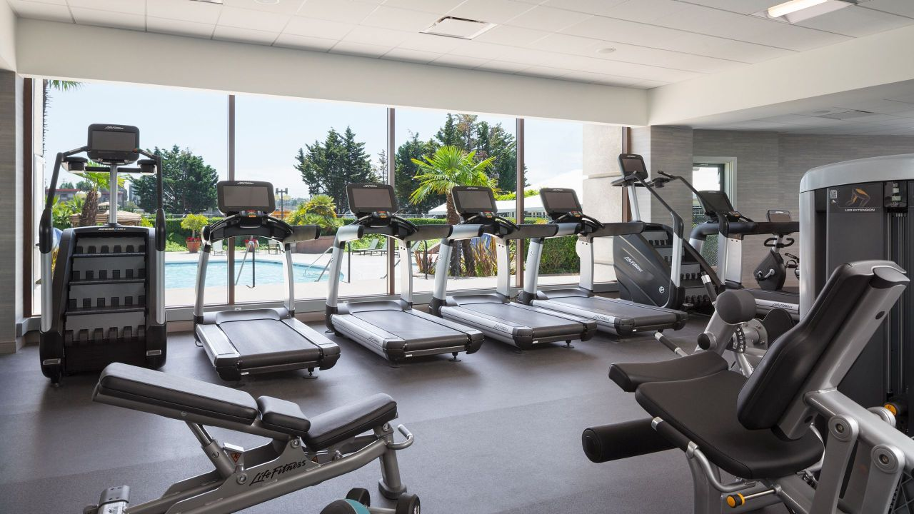 Fitness Center located on Lobby Level