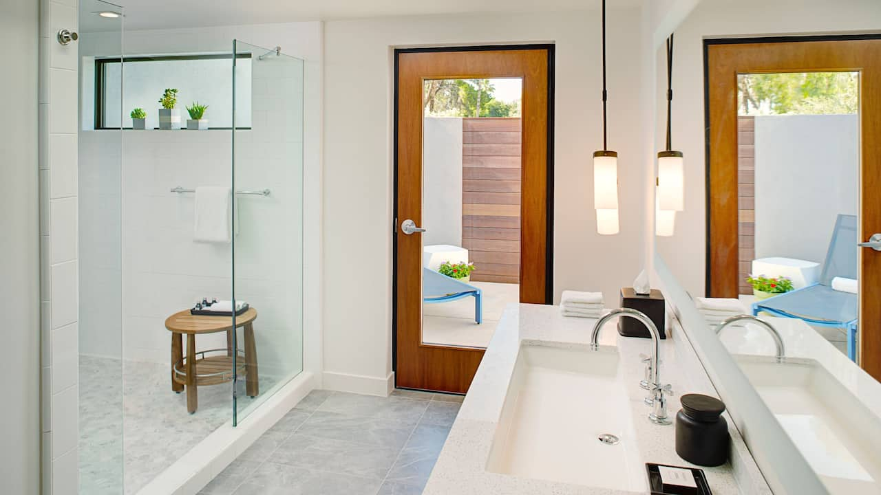 Andaz Scottsdale Bungalow Eames Shower