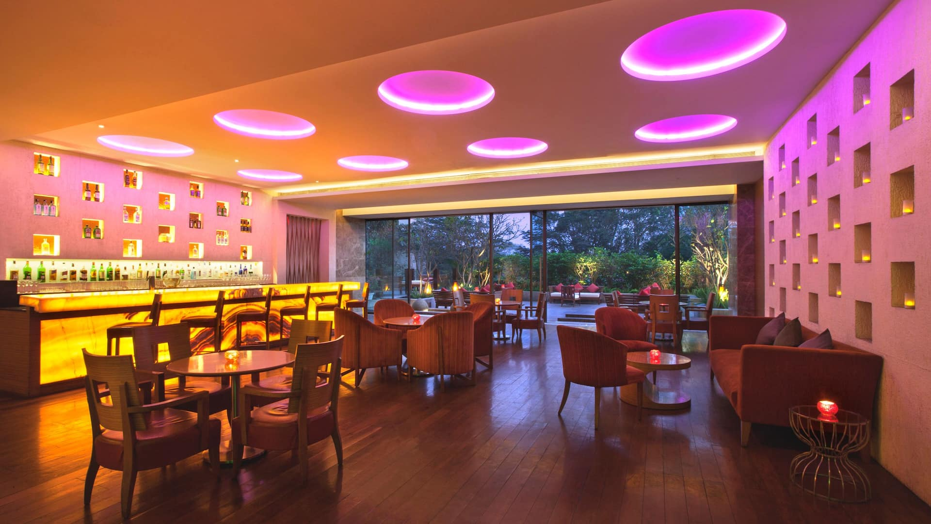 Hyatt Pune Fishbowl Restaurant