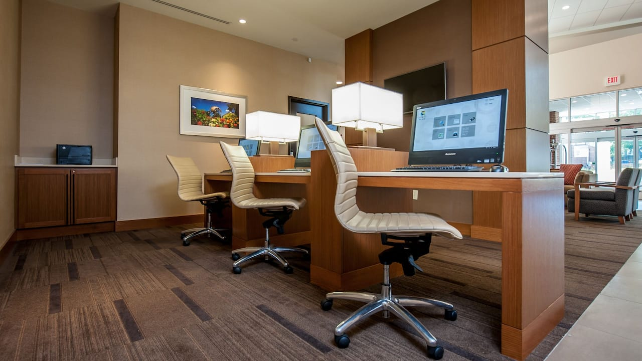 Business Center at Hyatt Place Boca Raton/Downtown
