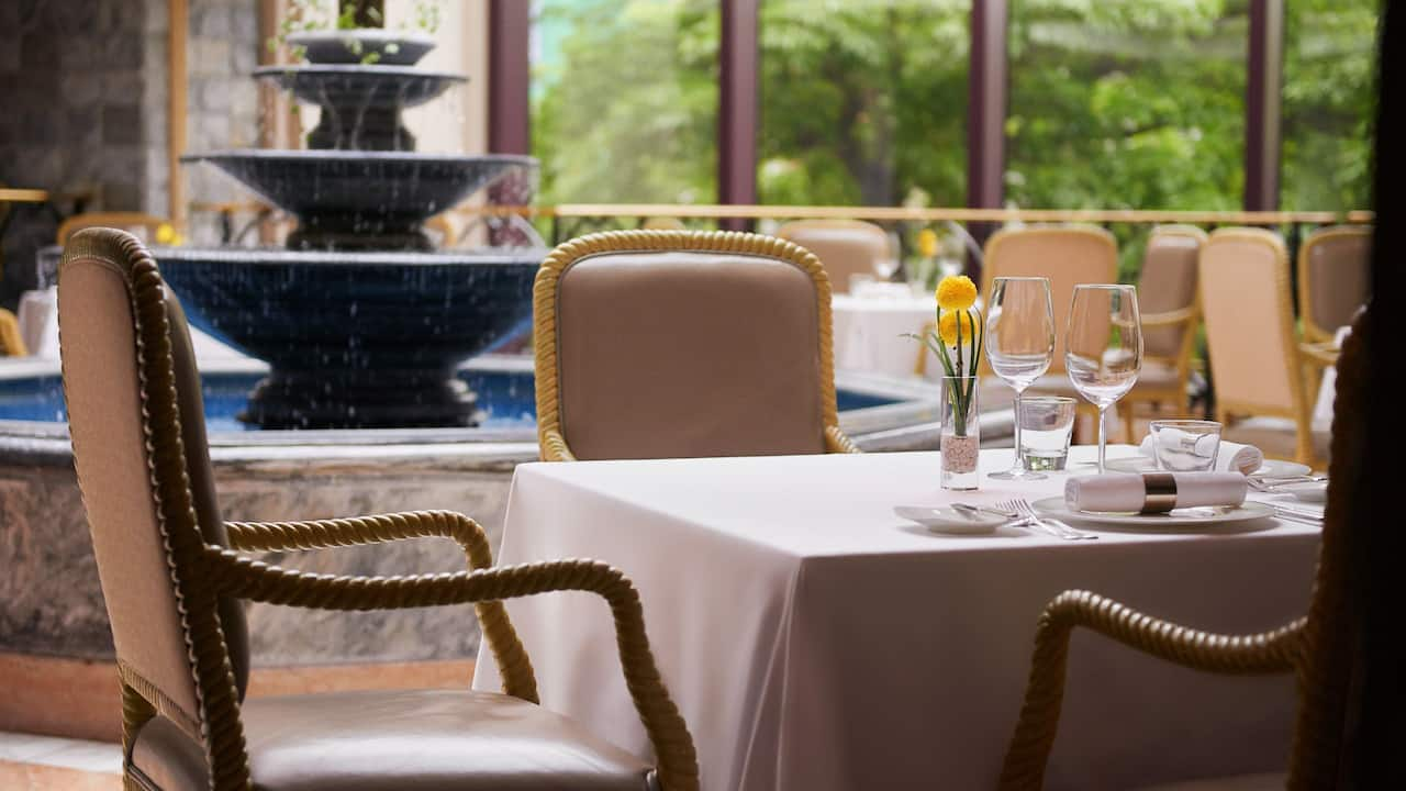 Bel Air Fountain Tables