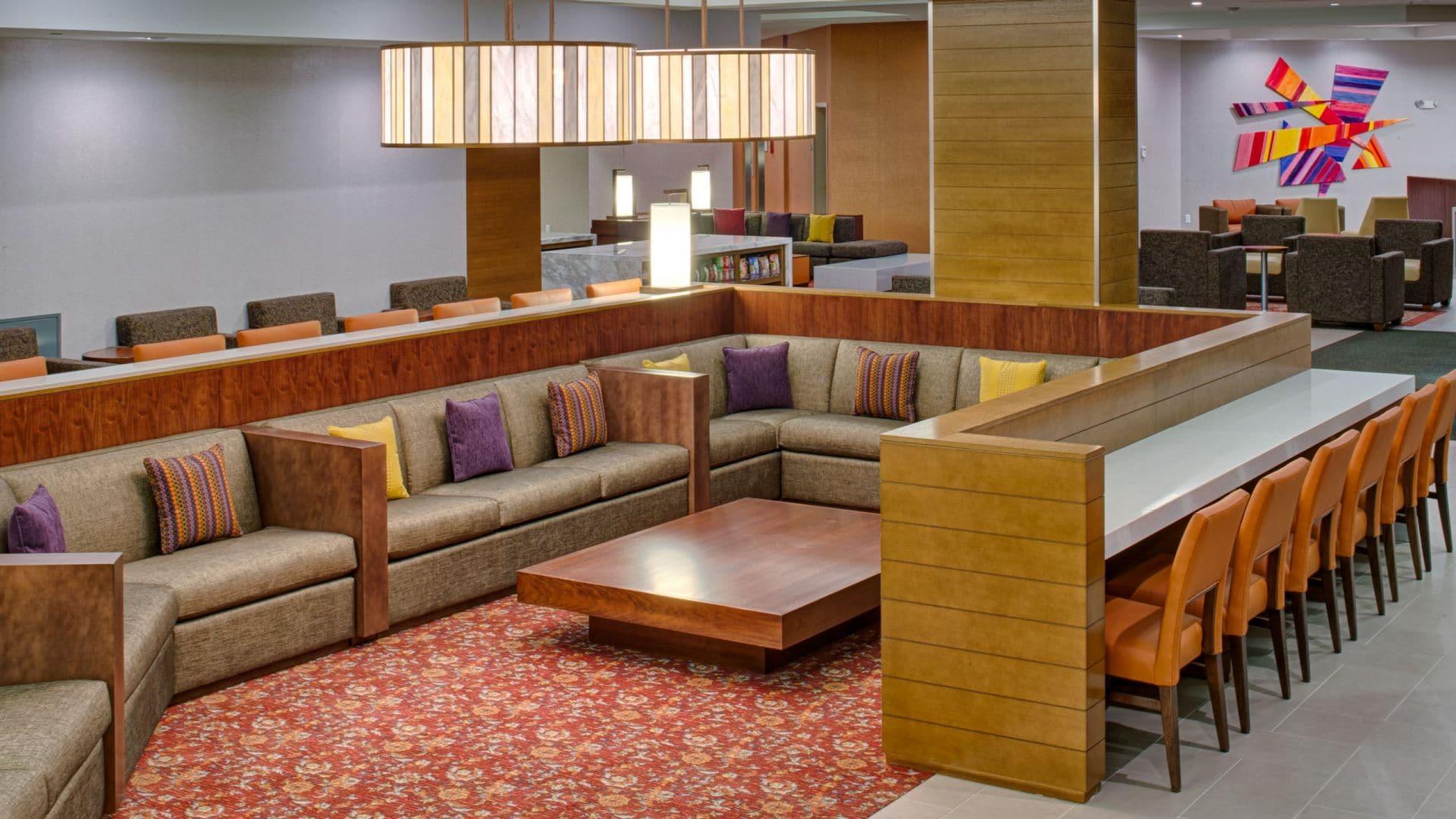 Hyatt House Seattle Downtown lobby seating