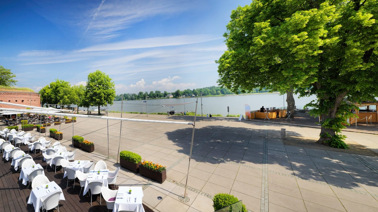Rhine Piazza at Hyatt Regency Mainz
