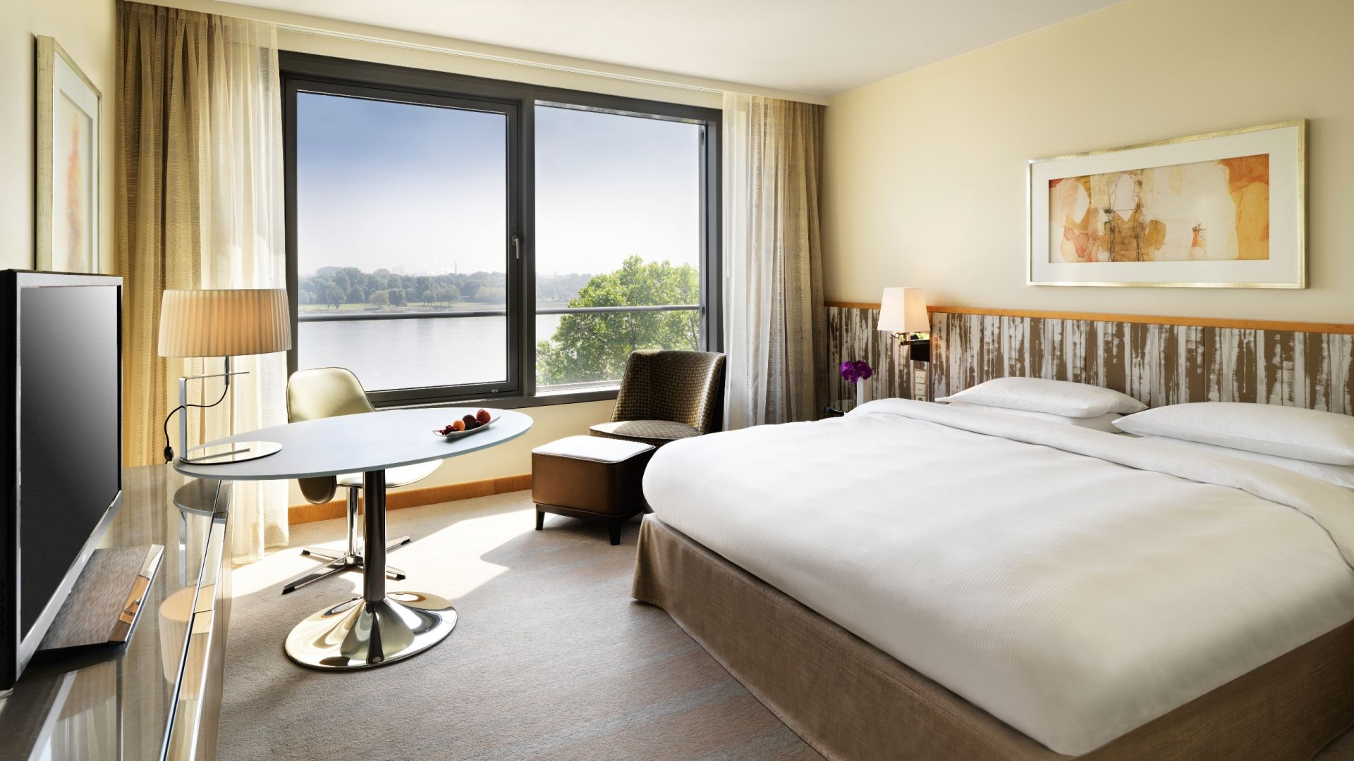 Rhine View Room King Bed