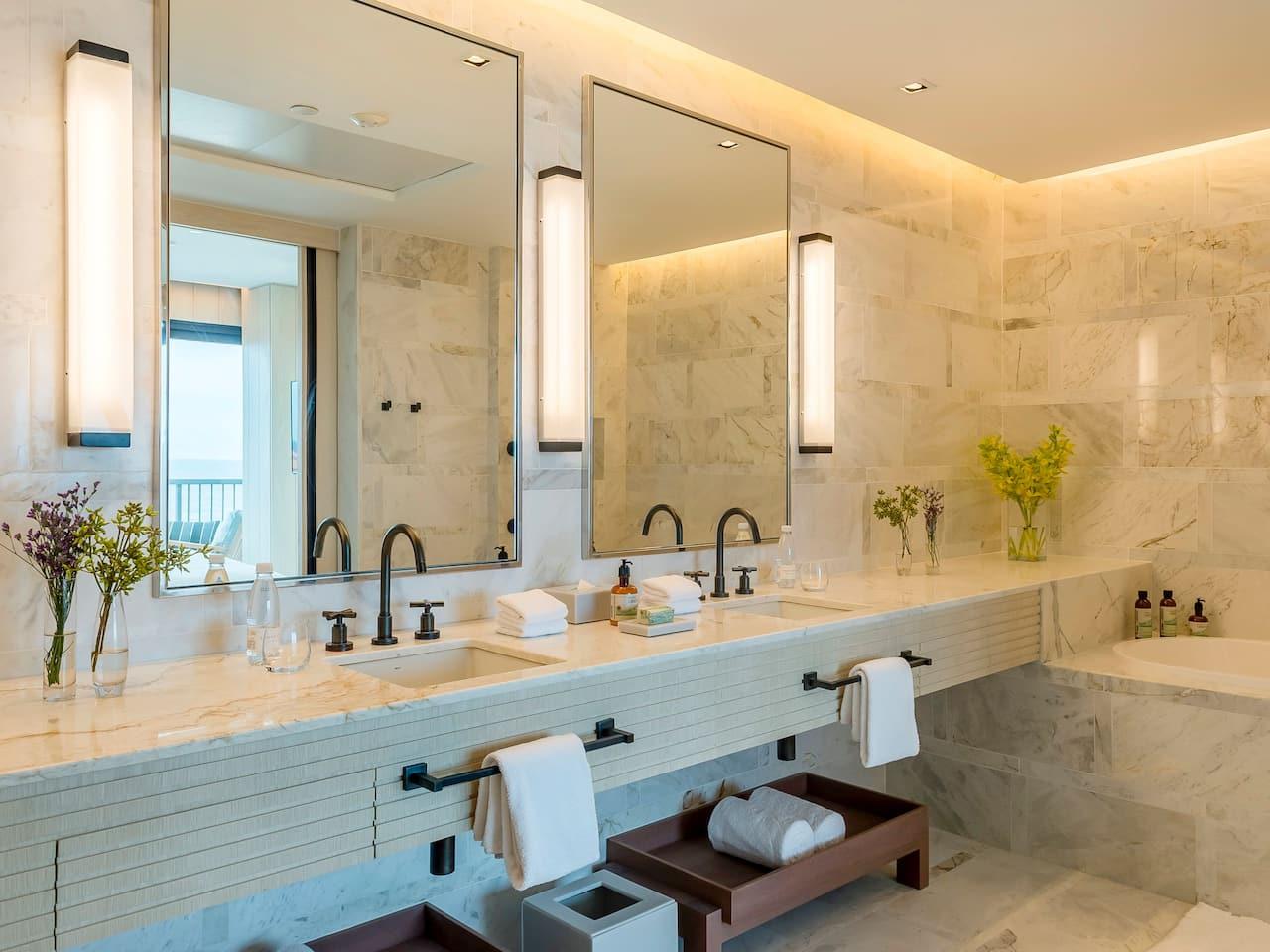 Grand Hyatt Rio de Janeiro | Diplomat Suite Bathroom