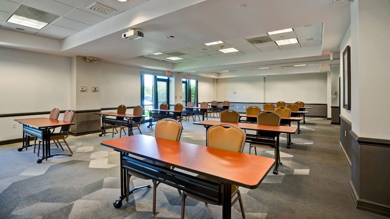Meeting Room Classroom Setup
