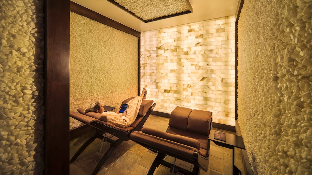 Spa Avania Himalayan Salt Room