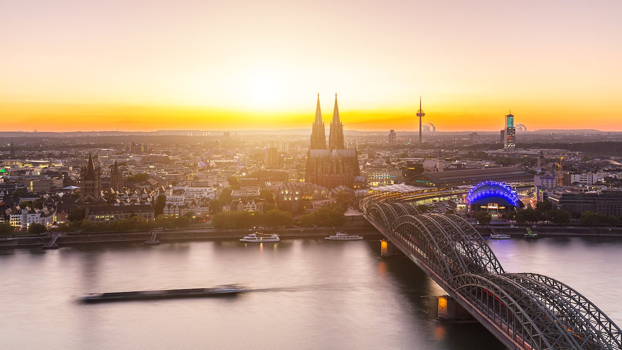 Area attractions around Hyatt Regency Cologne