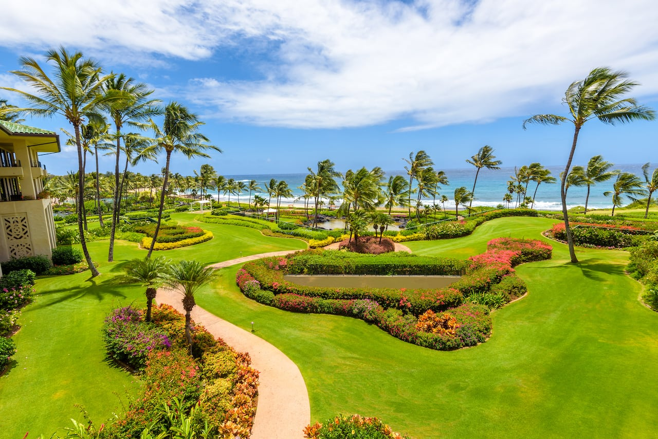 Grand Hyatt Kauai Outdoor Venues