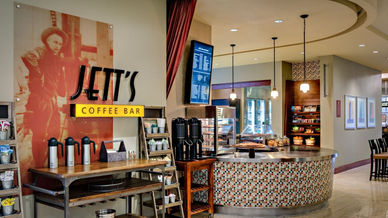 Jett's coffee bar