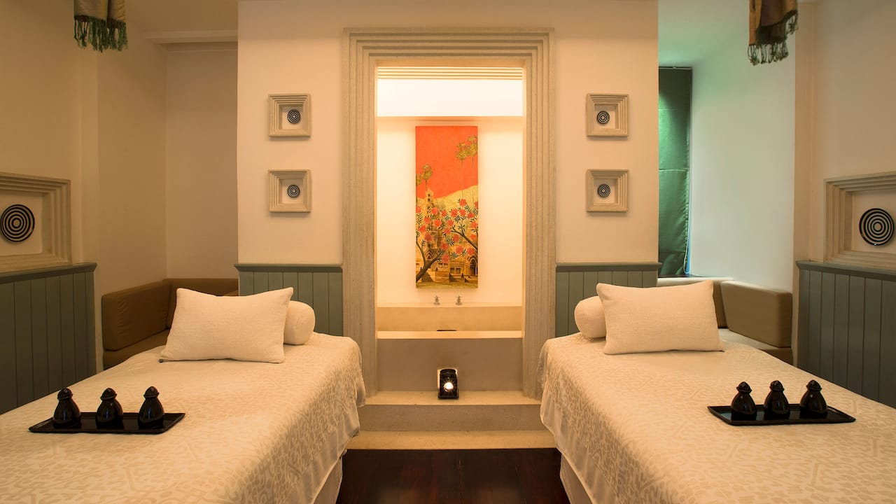 The Spa Double Treatment Room