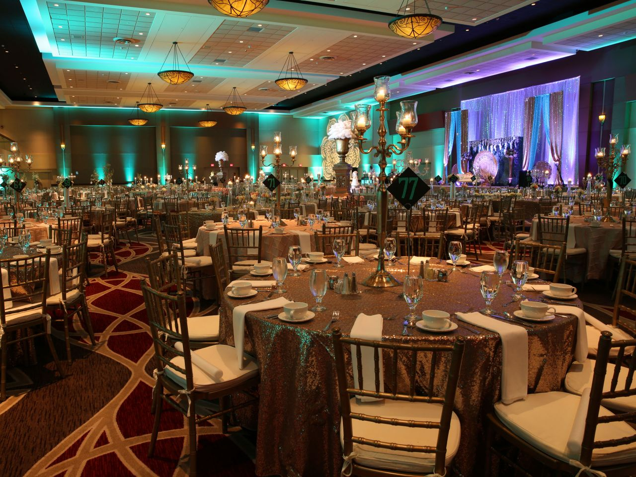 Hyatt Regency Columbus Wedding Reception