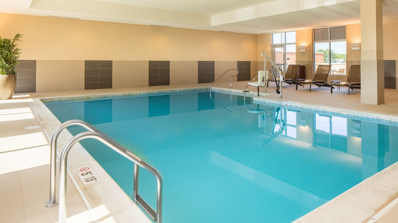 Hyatt Place Kansas City/Lenexa City Center Hotel Indoor Pool Photo