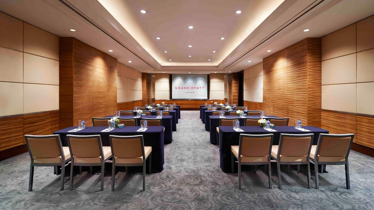 The Krakatau Classroom Setup for Meetings The Grand Hyatt, Jakarta