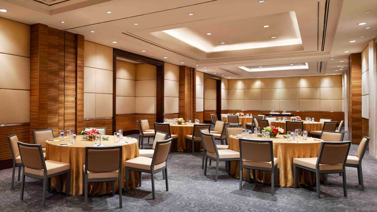 The Krakatau Room for Meetings and Breakout Rooms The Grand Hyatt, Jakarta