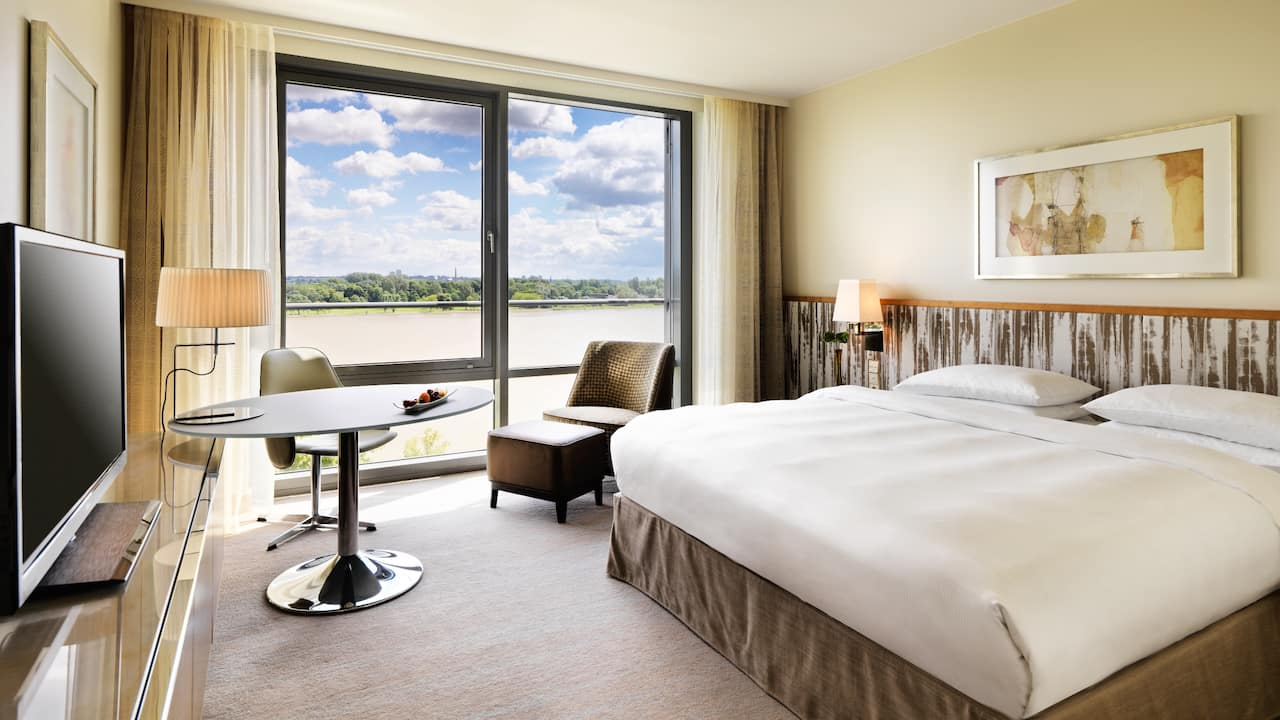 Rhine View Room at Hyatt Regency Mainz