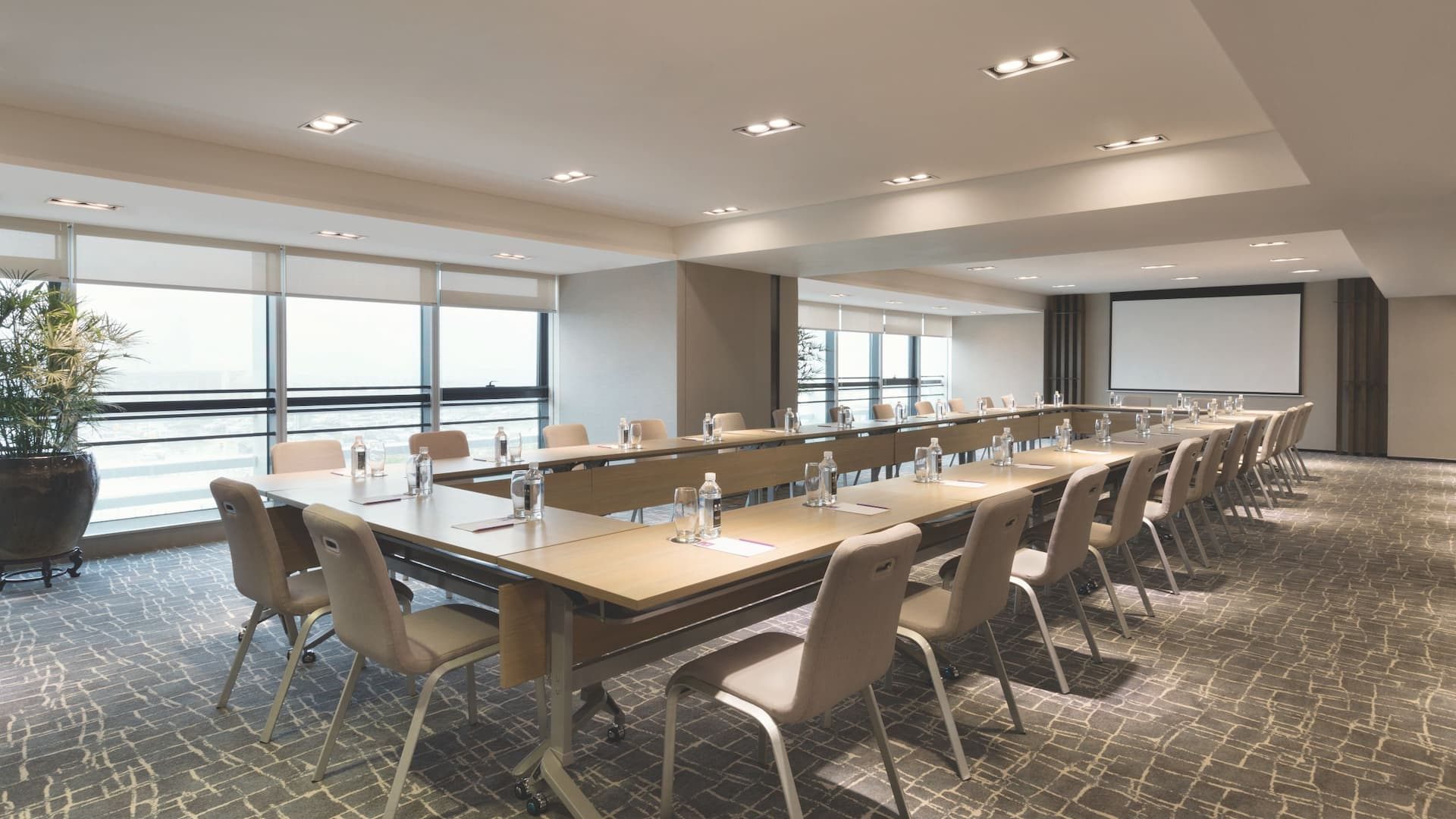 Hyatt House Shenzhen Airport Meeting Room Hollow Square