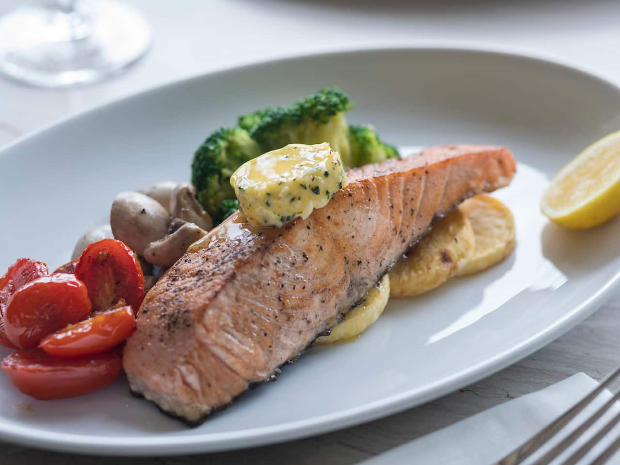 Signature Dish Salmon Fillet