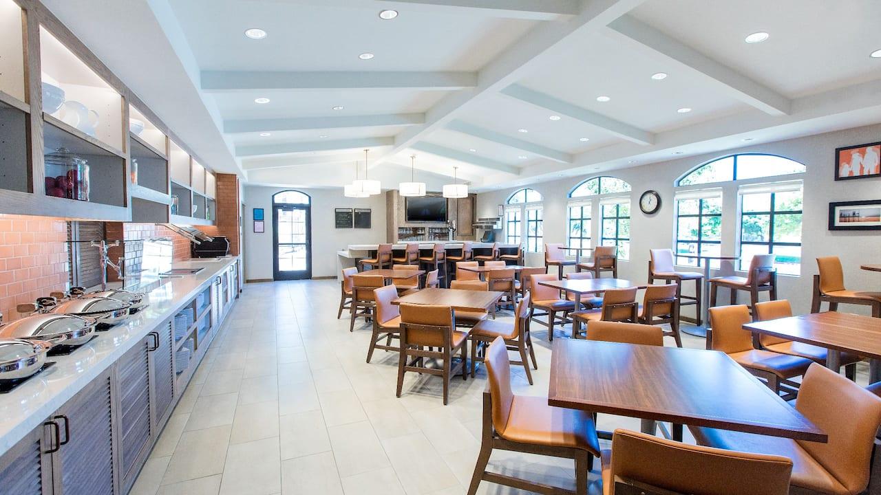 San Ramon Downtown Breakfast Restaurant at Hyatt House San Ramon