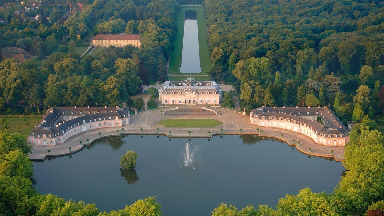 Benrath Palace near Hyatt Regency Dusseldorf