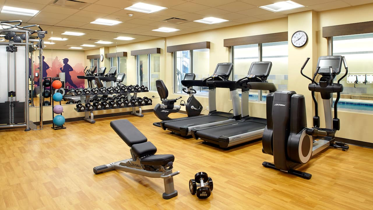 Hyatt Place Cleveland/Lyndhurst/Legacy Village Fitness Center