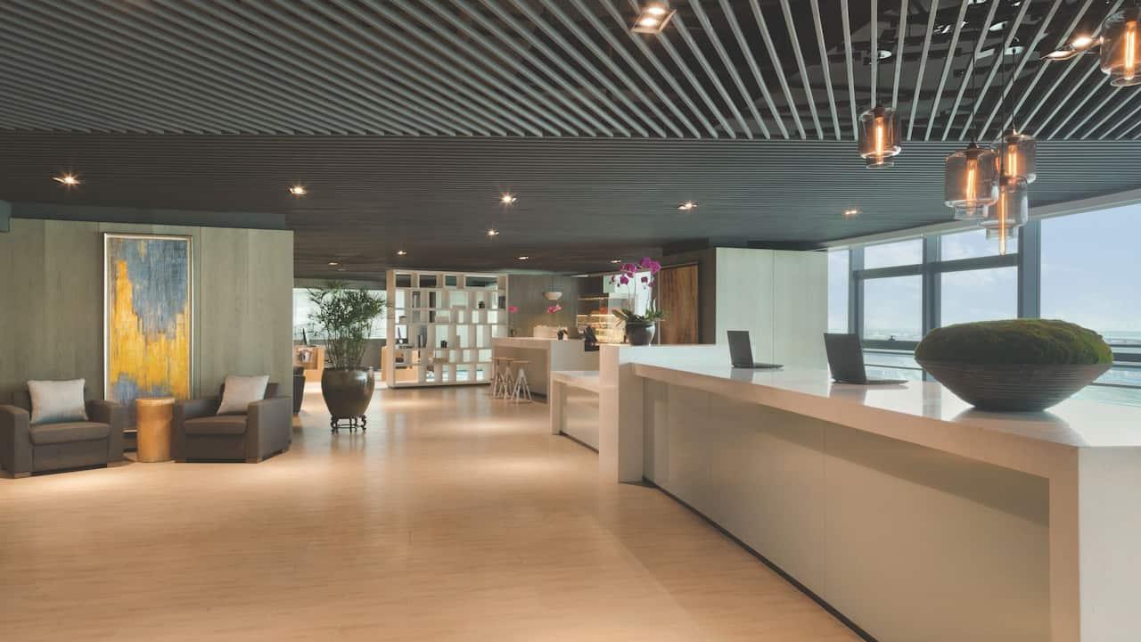 Hyatt House Shenzhen Airport Arrival Lobby