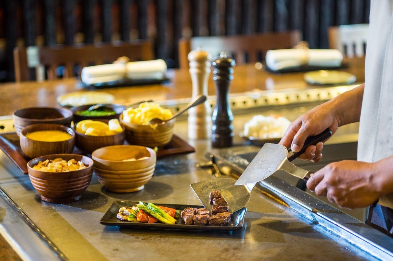 Nampu Japanese Restaurant Nusa Dua, Grand Hyatt Bali