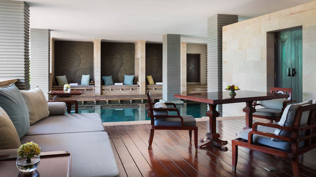Luxury 5-star hotel in Siem Reap Pool Terrace Suite