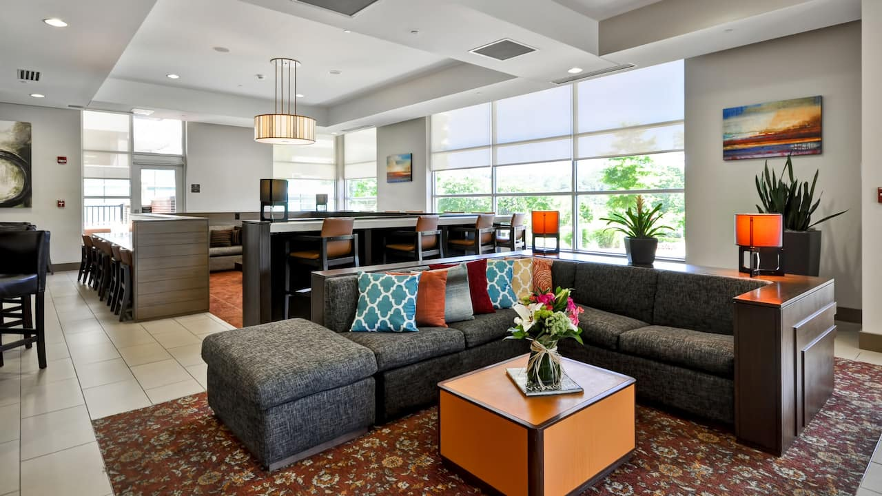 Hyatt House Atlanta Lobby