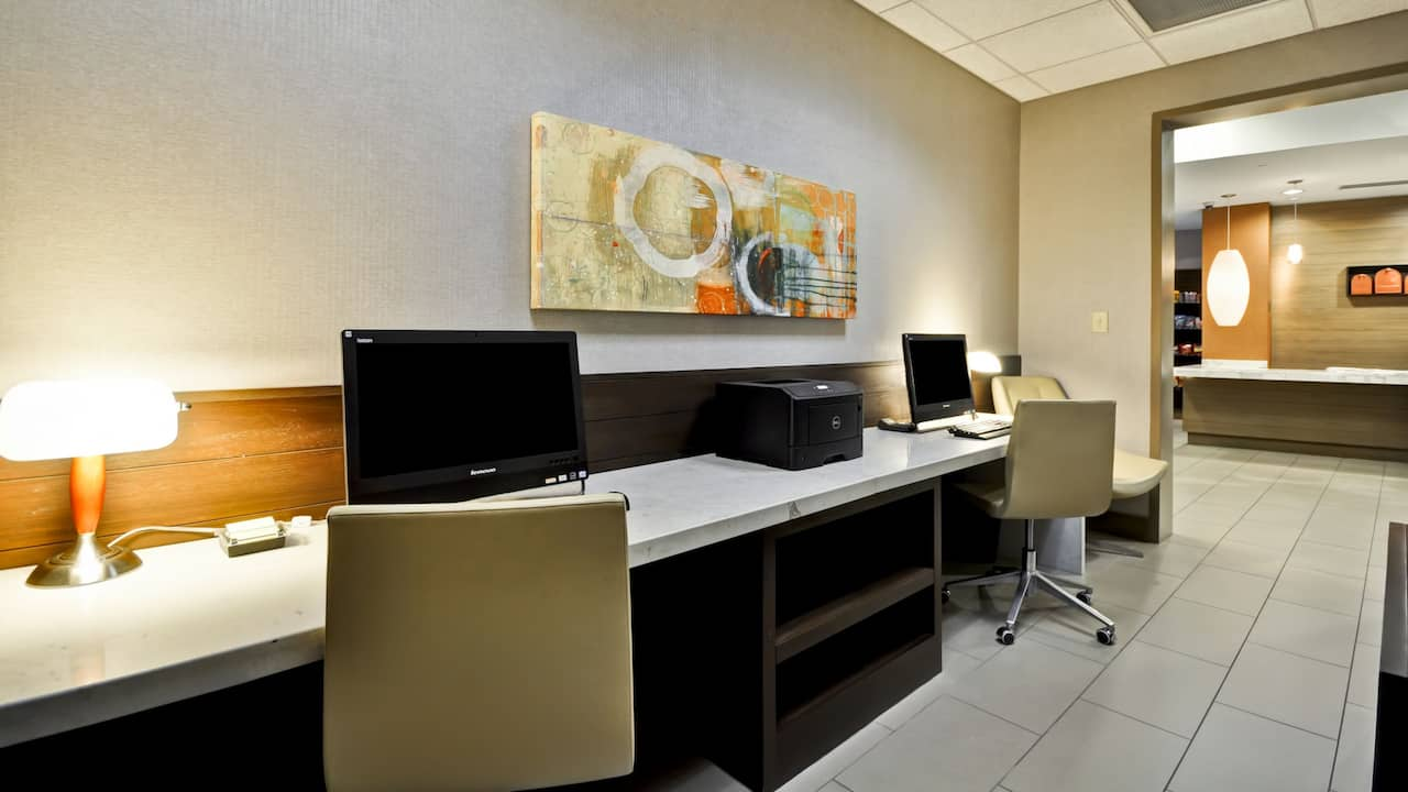 Business Center at Hyatt House Atlanta/Cobb Galleria