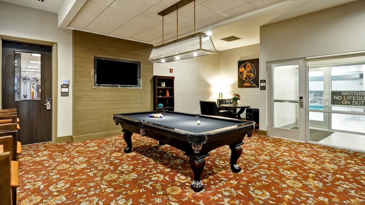Pool Table Hyatt House Atlanta/Cobb Galleria