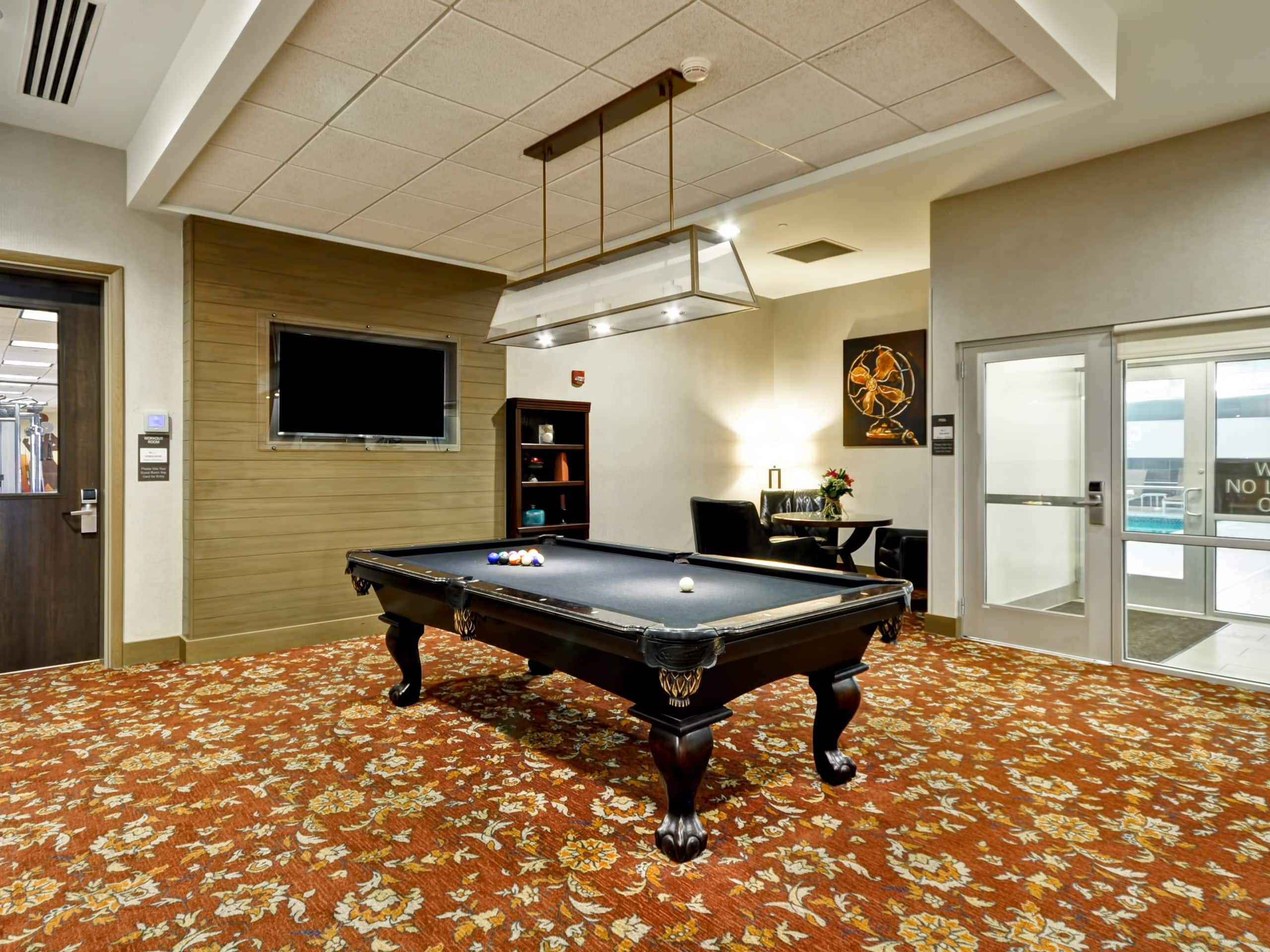 Atlanta Cobb Galleria Hotel Hyatt House AtlantaCobb Galleria - Pool table rental atlanta