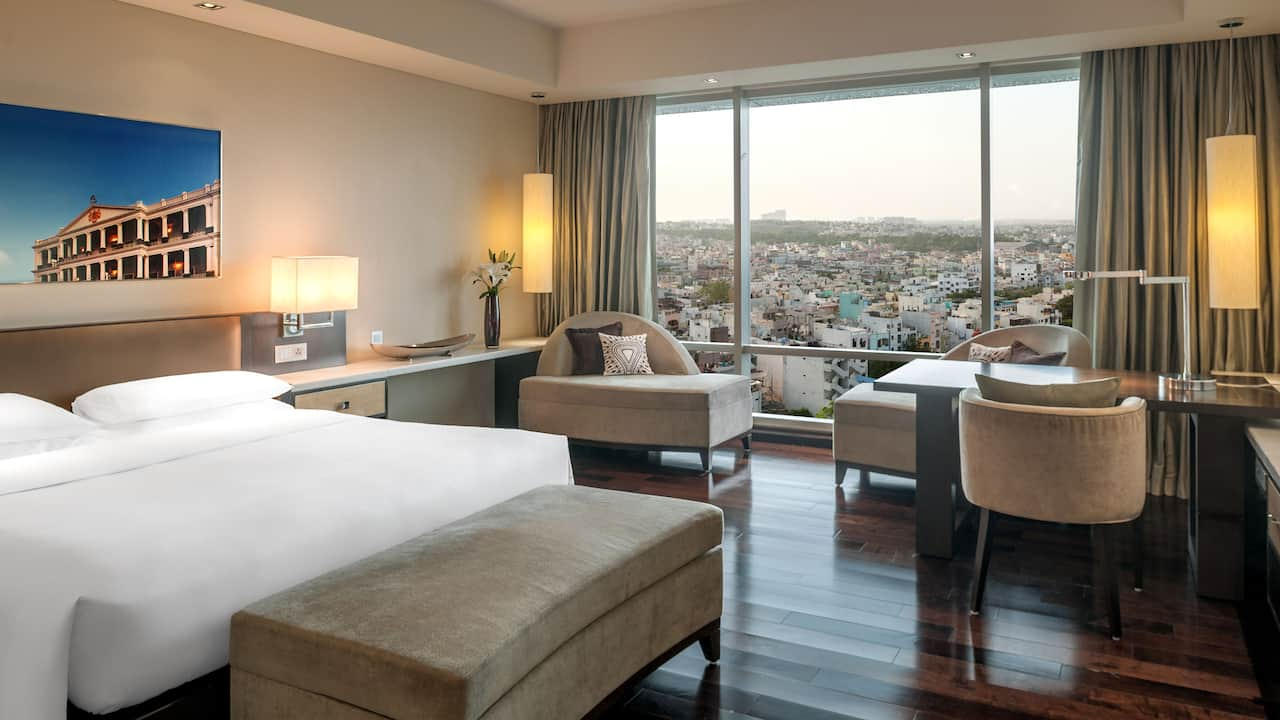 City view room Park Hyatt Hyderabad