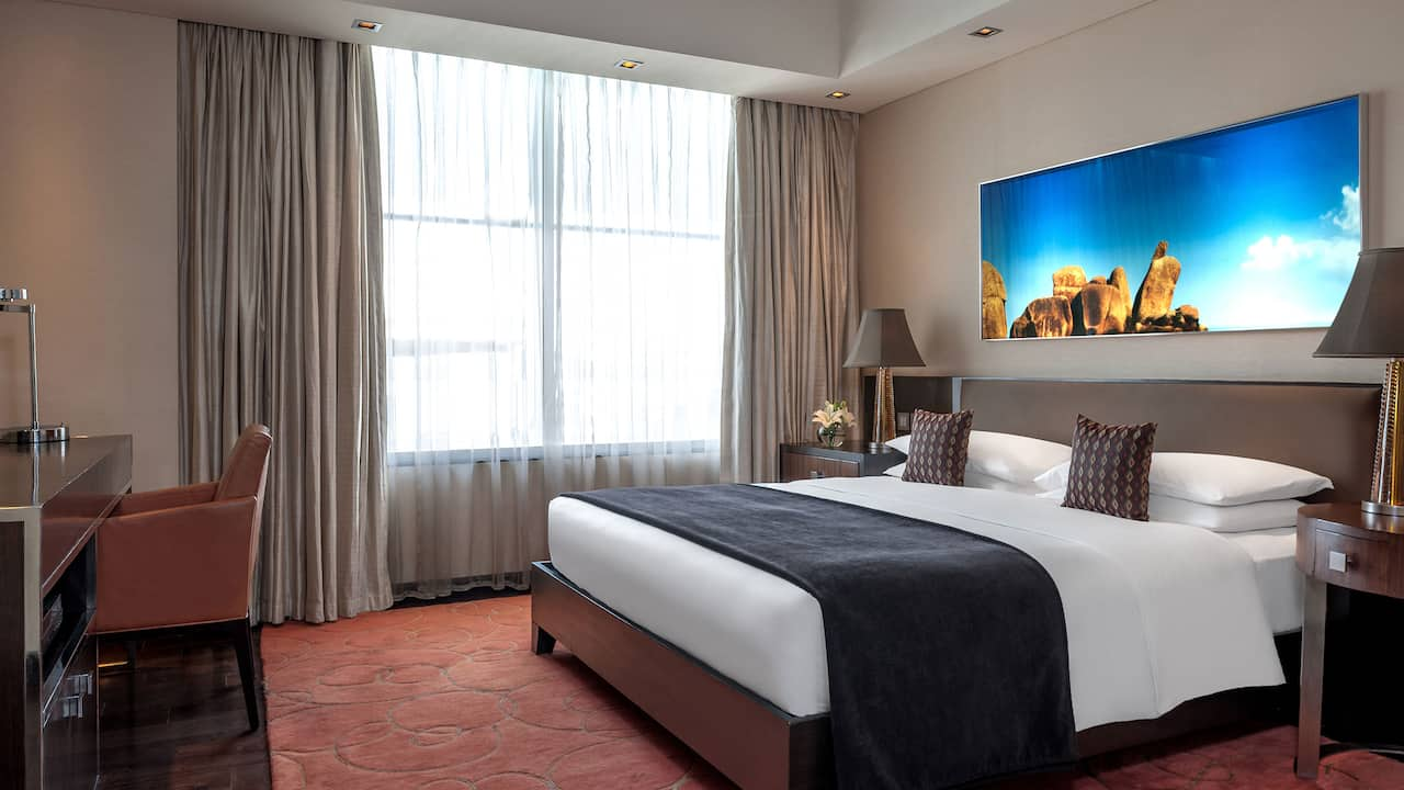 One Bedroom Deluxe Apartment at Park Hyatt Hyderabad