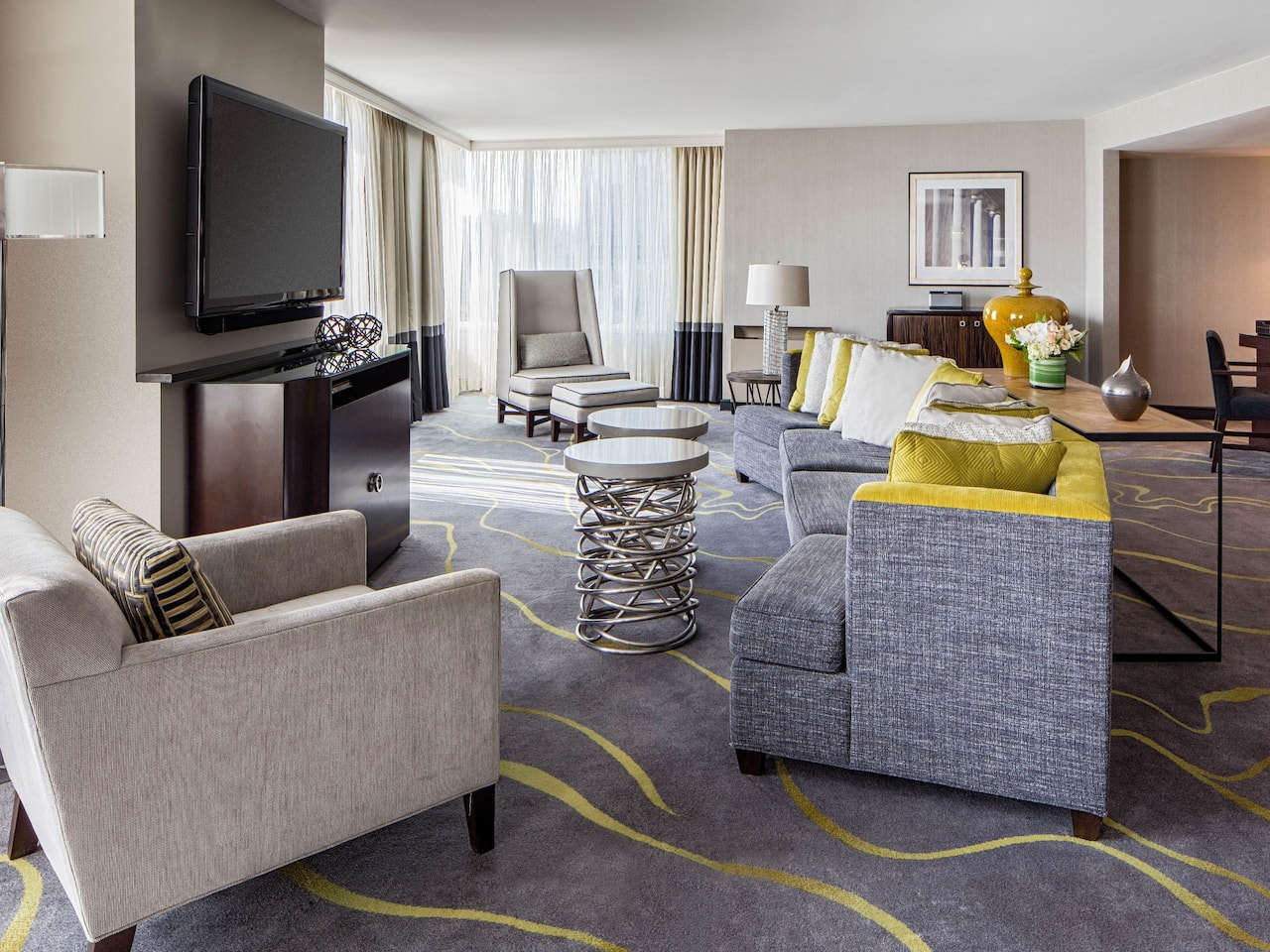 Hyatt Regency Washington on Capitol Hill Presidential Suite Living Room