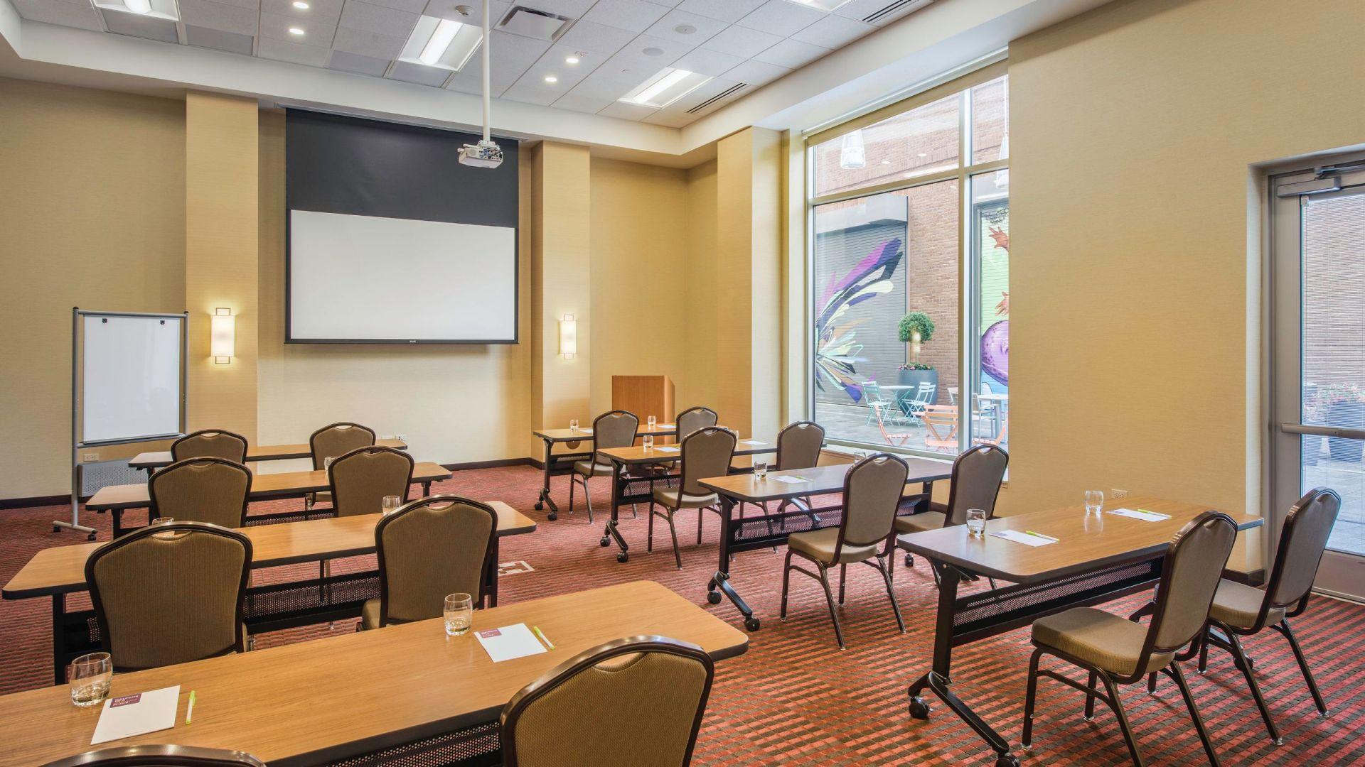 Hyatt Meeting Room in Cleveland Ohio