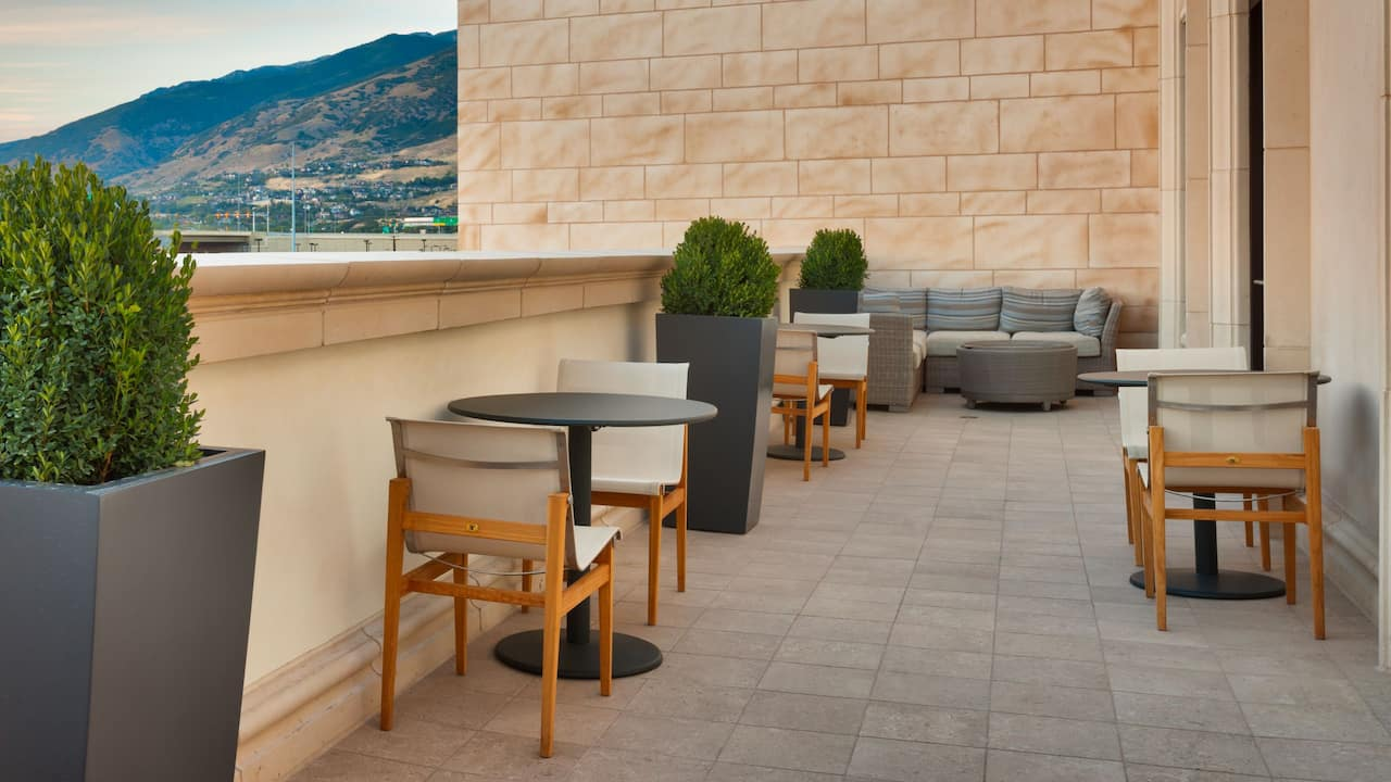 Hyatt Place Salt Lake City Farmington Station Park Patio