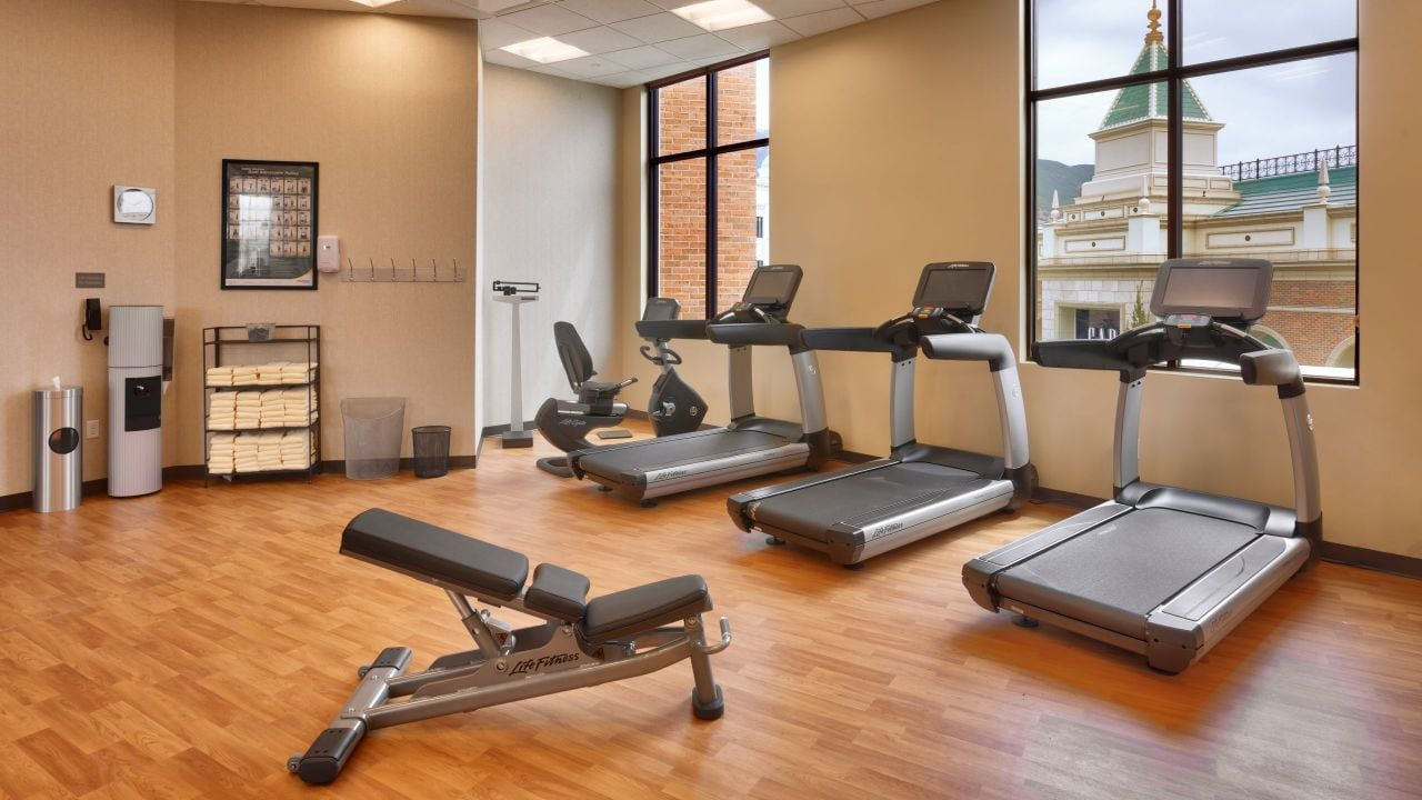 Hyatt Place Salt Lake City Farmington Station Park Gym