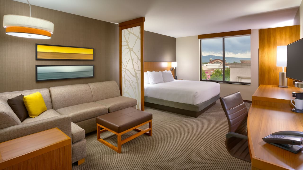 Hyatt Place Salt Lake City Farmington Station Park King Bed with Sofa Bed
