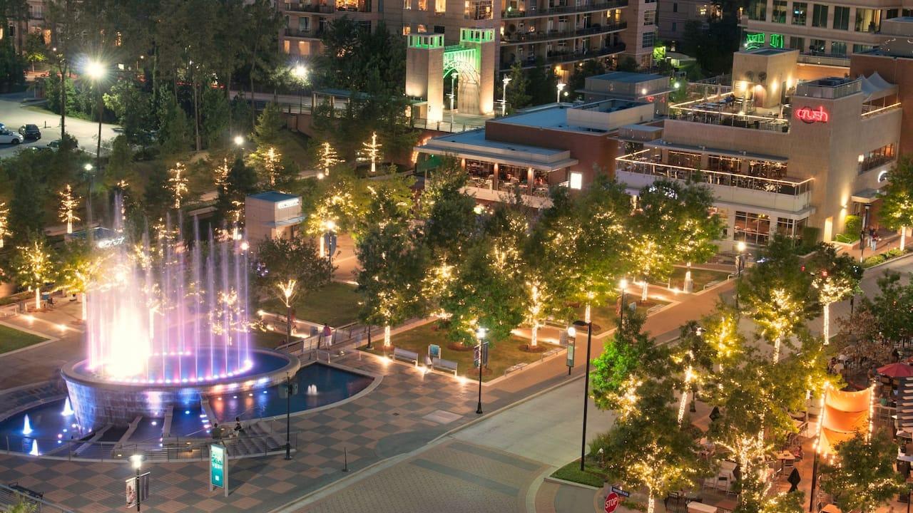 Market Street Aerial View