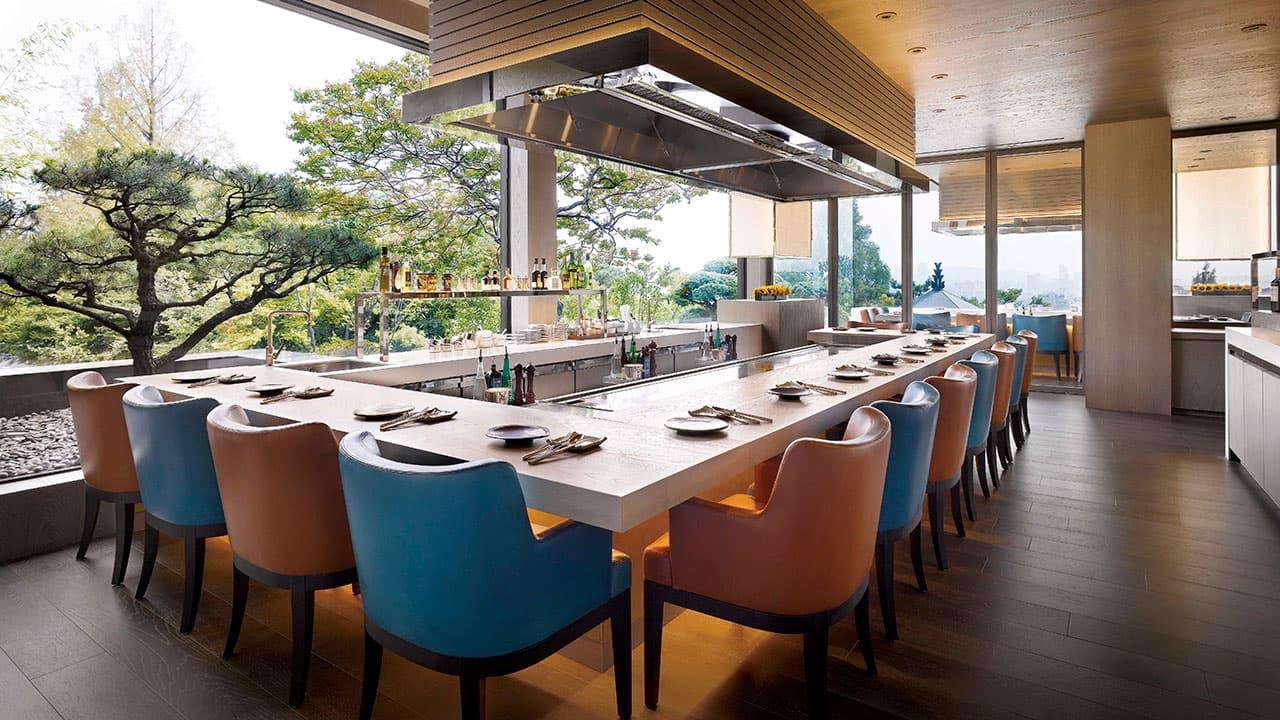 Hyatt Grand Seoul teppan restaurant