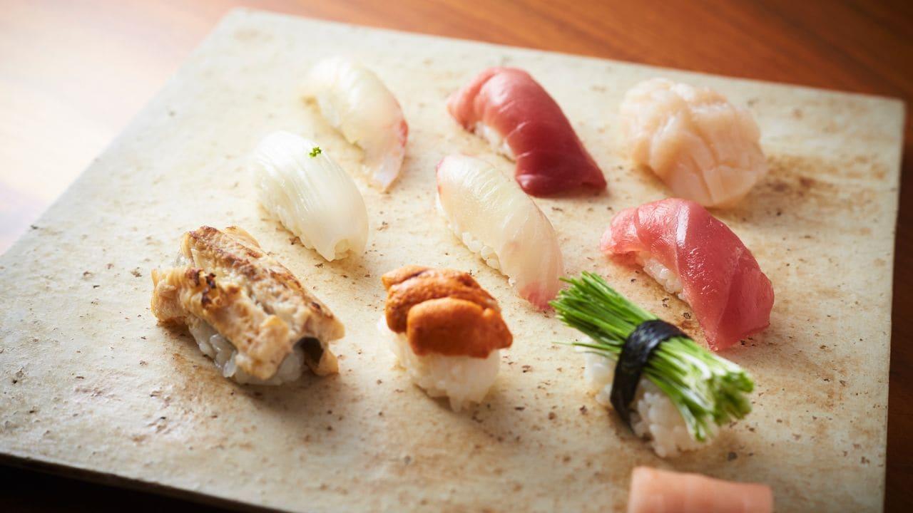 Touzan Food Sushi