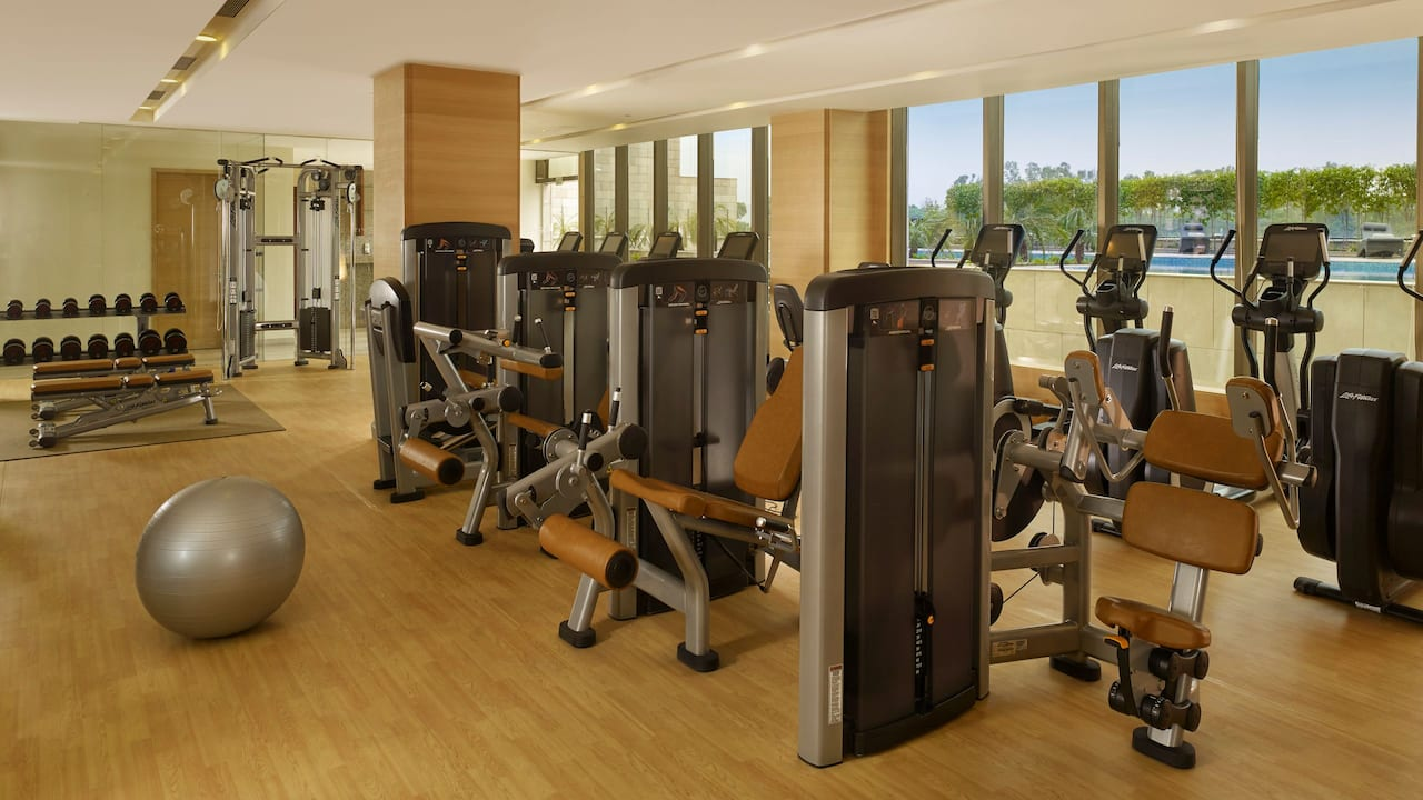 Exercise equipment in Fitness Centre