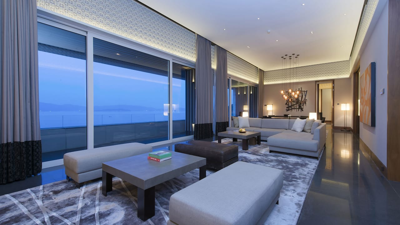 Park Hyatt Sanya Chairman Suite Living Room