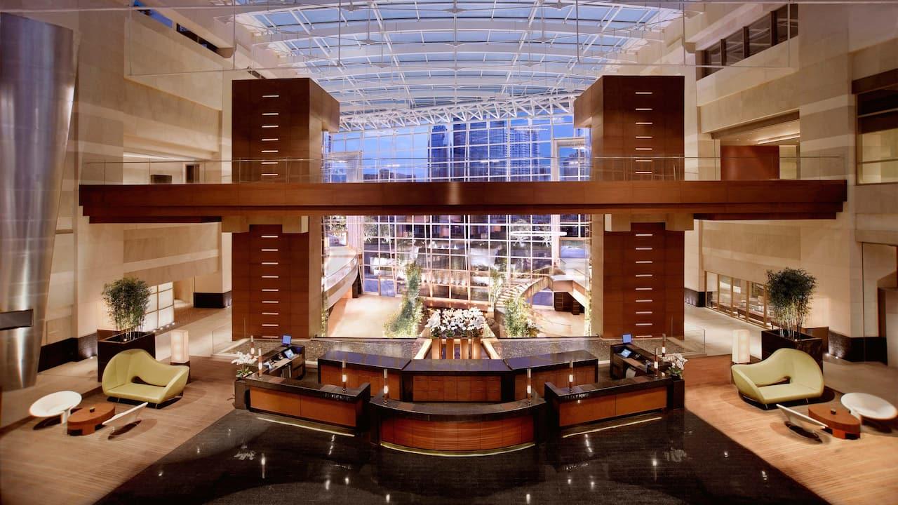 grand hyatt bund lobby