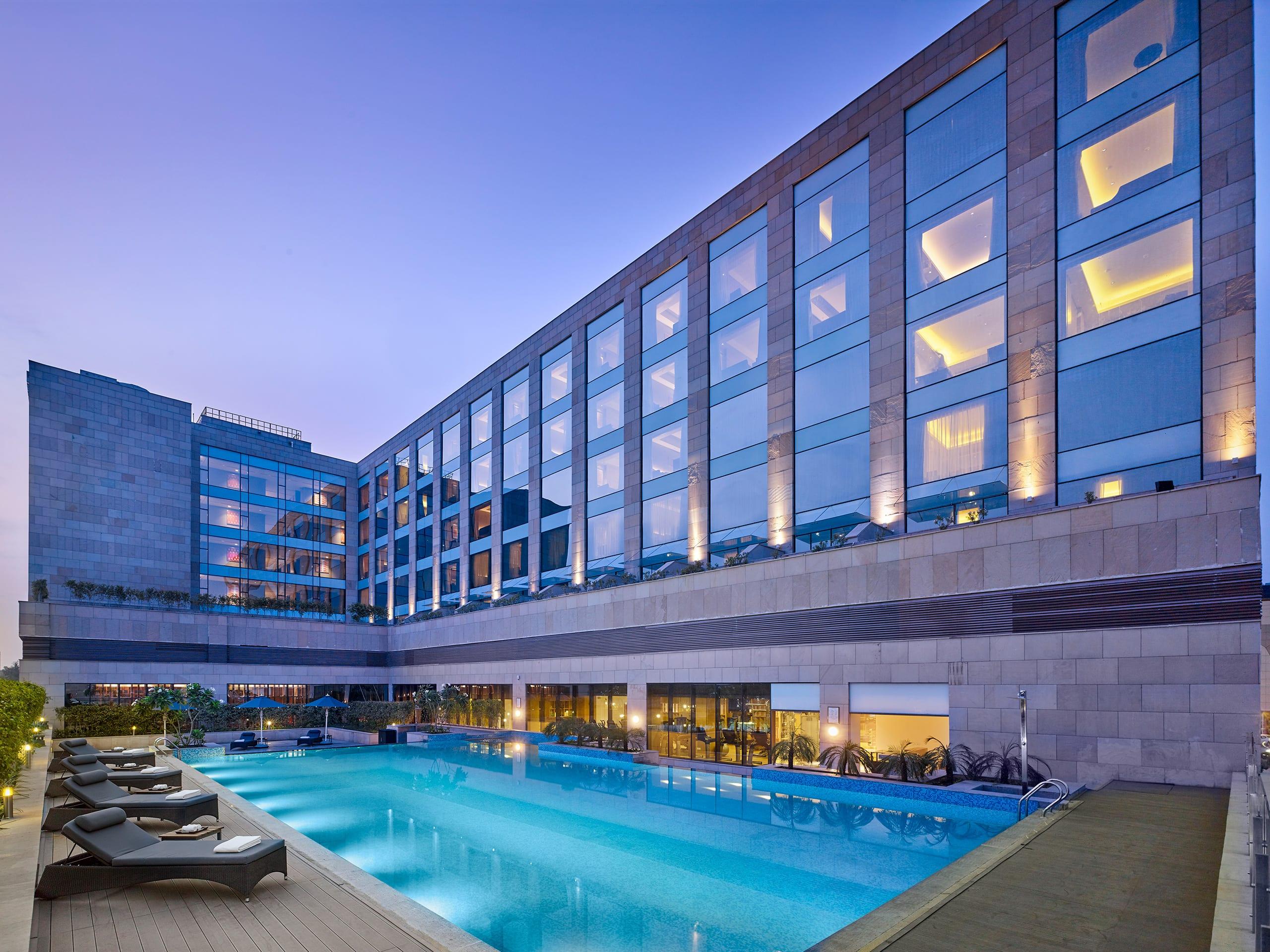 チャンディーガルの5つ星最高級ホテル ハイアット リージェンシー