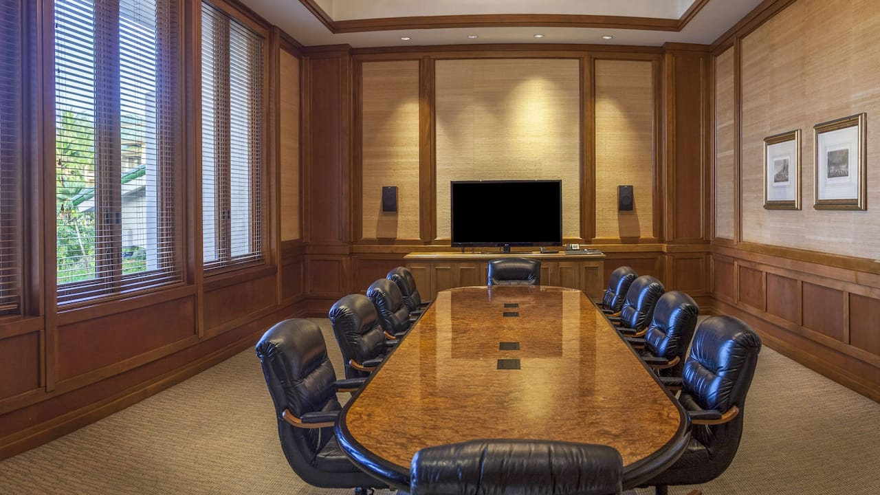 Grand Hyatt Kauai Boardroom Meeting Room